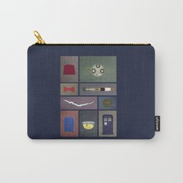 Eleven (Doctor Who) Colors Carry-All Pouch