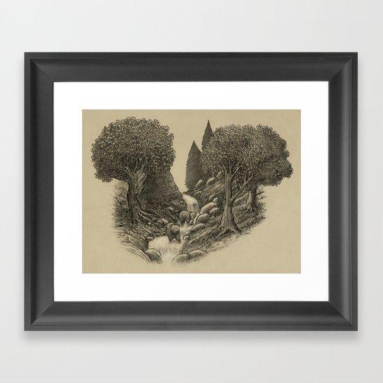 Bear Creek  Framed Art Print