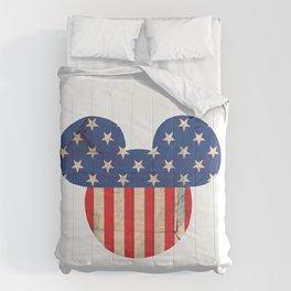 M Mouse USA Comforters