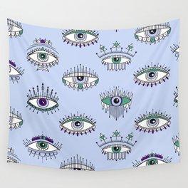 evil eye pattern Wall Tapestry