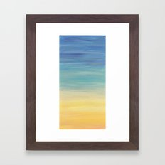 Desert Sunset collection 2 Framed Art Print