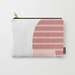 Pink & White T-Shirt Carry-All Pouch