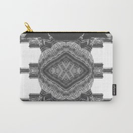 Architecture psychedelic b&w Carry-All Pouch
