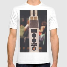 Turnstyle - NYC Mens Fitted Tee MEDIUM White