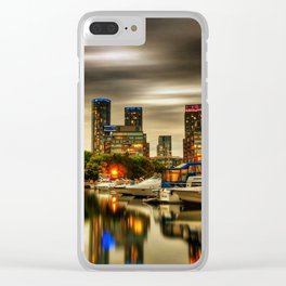 Condo Reflection Clear iPhone Case