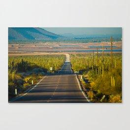 Carretera Canvas Print