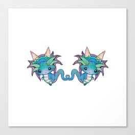Sweet Baby Dragons Canvas Print