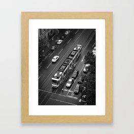 Urban Caterpillar. Framed Art Print