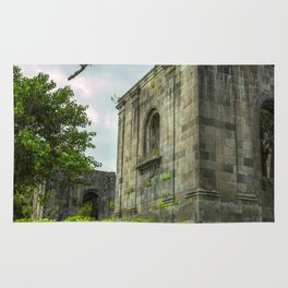 Santiago Apóstol Parish Ruins Rug