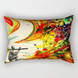 Bazooka Overload Rectangular Pillow