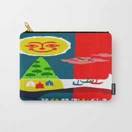 Portugal Fun in the Sun Travel Carry-All Pouch