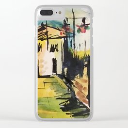 townscape Clear iPhone Case