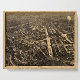 Philadelphia Centennial Exposition 1876 Serving Tray