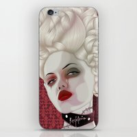 marie antoinette iPhone & iPod Skins featuring Marie Antoinette by MORPHEUS
