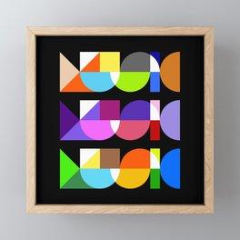 Music, Music, Music Framed Mini Art Print