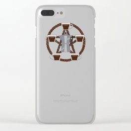 Coffee Summon Clear iPhone Case