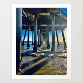 Piers and Fears Art Print
