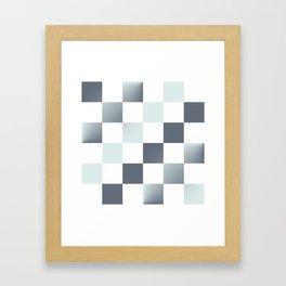 Square Pattern Simple Grid #decor #society6 #buyart Framed Art Print