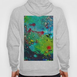 nature fever abstract paint Hoody