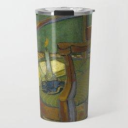 Gauguin's chair by Vincent van Gogh Travel Mug