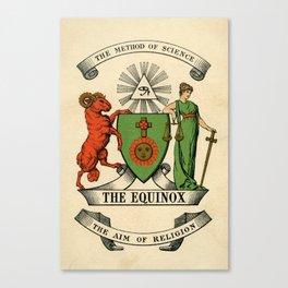 Equinox Cover Canvas Print