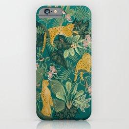 Elegant Leopards iPhone Case
