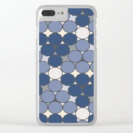 Dodecagon Constellation Clear iPhone Case