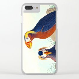Tufted Auk Bird Clear iPhone Case