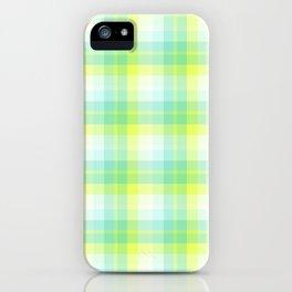 Summer Plaid 8 iPhone Case
