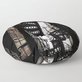 Trinity College Library Spiral Staircase Floor Pillow