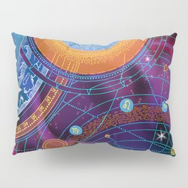 MOON AND PLANETS Pillow Sham