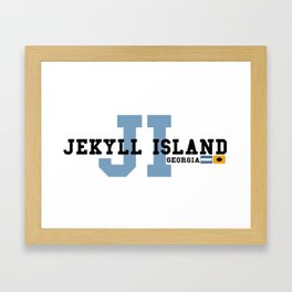 Jekyll Island - Georgia. Framed Art Print