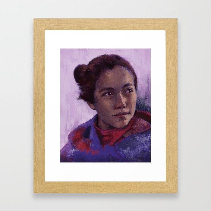 At Standing Rock 2 Framed Art Print