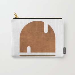 Solo Sailing - Contemporary Minimalist Abstract 2 Carry-All Pouch