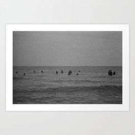 French Ocean Art Print