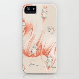 Hair bears iPhone Case