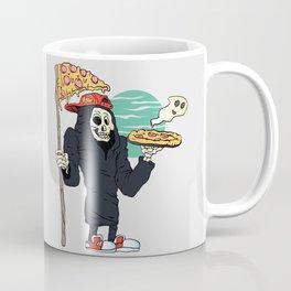 Pizza delivery reaper grim Coffee Mug