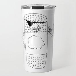 The Bandaid Bandit!  Travel Mug
