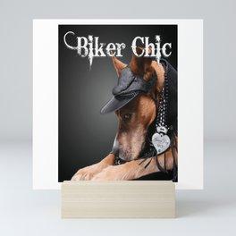 Biker Chic Mini Art Print