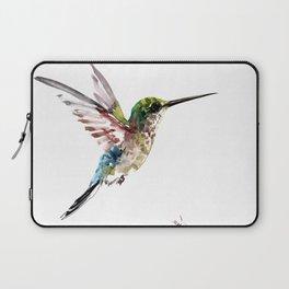 Hummingbird, bird art minimalist bird design hummingbird lover Laptop Sleeve