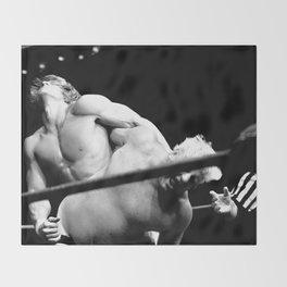 Kevin VonEric vs Dick The Bruiser wrestling Throw Blanket