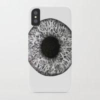 iris iPhone & iPod Cases featuring Iris by ECMazur