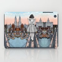 eugenia loli iPad Cases featuring Stress Test by Eugenia Loli
