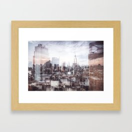 A Layered Empire Framed Art Print