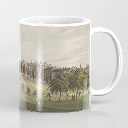 Vintage Illustration of The Boston Commons (1829) Coffee Mug