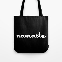 Namaste (Brush) Tote Bag