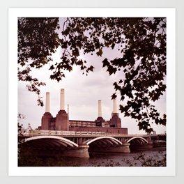 Pink Floyd Animal Art Print