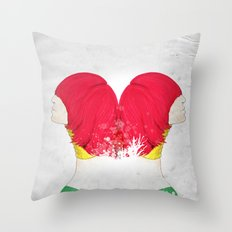 RED'FLECTO Throw Pillow