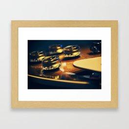 Turn It Up! Framed Art Print