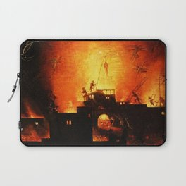 The flaming infurno Laptop Sleeve